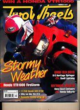 Two Wheels Magazine March 1997 Honda VTR1000 Buell Lightning Guzzi Centauro F650