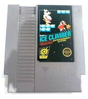 Ice Climber ORIGINAL NINTENDO NES GAME Tested + WORKING & Authentic! 5 SCREW!