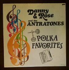 Danny Rose and the Antratones LP Polka Favorites sealed TransAudio 7615