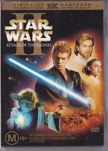 STAR WARS 11 ~ ATTACK OF THE CLONES (2/DICS) [DVD 2002] Digitally Mastered R4