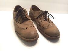 Frye Wingtip Shoes Crepe Sole 11.5 Gray