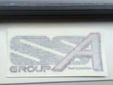 VL HOLDEN GROUP SS GROUP A REAR BOOT DECAL BADGE X 1