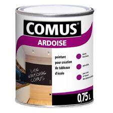 Comus Ardoise Noir 750 ml peinture pour tableaux d'école et tables de ping-pong