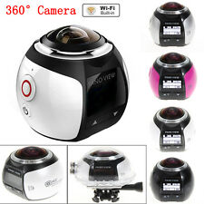 4K 360° Wifi Panoramic Camera Ultra HD 2448*2448 Sport Action Driving Camera