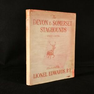 1936 The Devon and Somerset Staghounds MacDermot Edwards Illustrated 1st