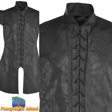 Black Warrior Tunic Game of Thrones Historical Adults Mens Fancy Dress Costume