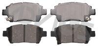 Disc Brake Pad Set-GT Front ADVICS AD0822