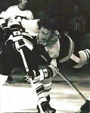 BOBBY ORR 8X10 PHOTO BOSTON BRUINS NHL PICTURE AIRBORNE B/W HOCKEY