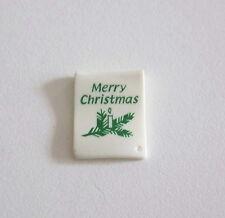 """PLAYMOBIL (N2127) NOEL - Carte Blanche """"Joyeux Noel"""" Merry Christmas"""