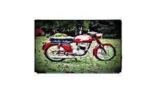 1960 mival Bike Motorcycle A4 Photo Poster