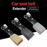 Camlock Auto Car Front Seat Belt Buckle Socket Plug Connector with Warning Cable