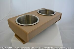 Perfect Cupholder 2.0 for all Mercedes-Benz R107 in palomino