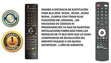 Mando a distancia Blu:sens RC054 RC034 RC042 RC044 TV H335B32A H330W24A H325W26A