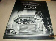 PHILCO--{Orig.Magazine Product Ad}--<1946>--RECORD PLAYER