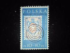 Stamps POLAND POLEN 1960 - 100 ann. polish stamps Philatelic Exhibition, Fi1033
