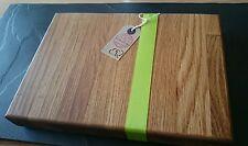 Solid Oak Chopping / Serving Board 30cm x 20cm Steaks or BBQ