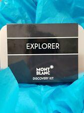MONT BLANC EXPLORER by Mont Blanc 4 PIECE GIFT SET - 0.25 OZ EAU DE PARFUM Men