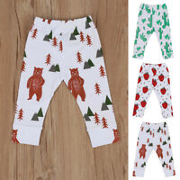 Toddler Kids Baby Boys Girls Print Bottoms Harem Pants Leggings Trousers Clothes
