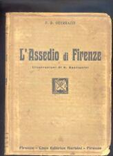 F.D. Guerrazzi  L'assedio di Firenze  Nerbini 1928 illustrazioni A. Bastianini R