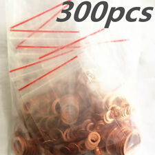 300 X High Quality Car Engines Copper Washers Seal Ring Gasket Hydraulic Fitting