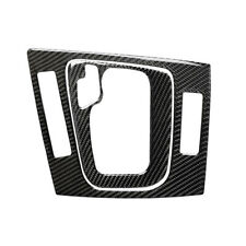 Set of Carbon Fiber Gear Shift Box Panel Cover Trim for BMW E46 4-Door 1998-2006