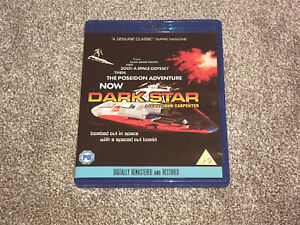 DARK STAR : JOHN CARPENTER  BLU RAY SCI-FI ACTION FILM - IN VGC (FREE UK P&P)