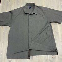 Patagonia Short Sleeve Comfort Stretch short sleeve Shirt - Men's XL button snap