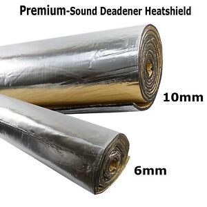Sound Deadener 10mm/6mm Thermal Shield Insulation Underlay Noise Proofing Van SE