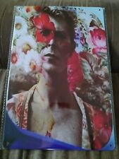 David Bowie Poster Style Wall Sign Metal New