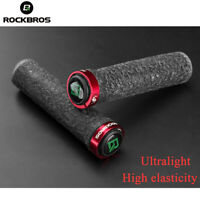 ROCKBROS Bicycle Bike Grip Handlebar Unilateral Lock Jelly Grips Ultralight MTB