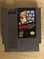 Nintendo NES Super Mario Bros 1 Super Mario Brothers 1 Video Game Cartridge