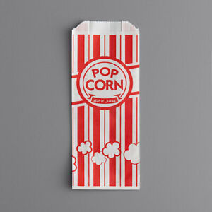 Carnival King Grease Resistant Paper Popcorn Bags