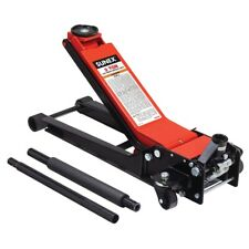 Sunex 6602LP Low Profile Service Floor Jack 2 Ton for Sports cars and Flat tires