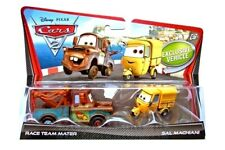Disney Pixar Cars 2 DieCast Car Race Team Mater & Sal Machinai Exclusive