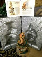 Hap Henriksen LEVIATHAN, LAND OF LEGEND DRAGON FIGURINE, Ltd.Pdtn. NEW w/Catalog