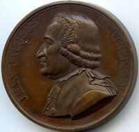 FRANCE JEAN JACQUES BARTHELEMY MEDAILLE 1824