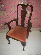 Ethan Allen Georgian Court Cherry Queen Anne Arm Chair 11 6400 Made in USA