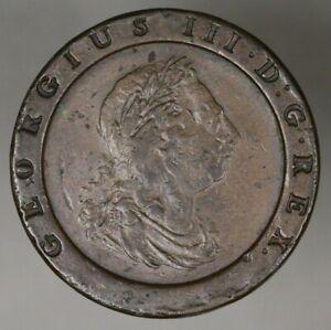 "Great Britain 1797 2 Pence ""Cartwheel""   A2751"
