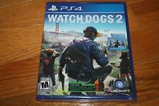 Brand New Factory Sealed PlayStation 4 PS4 Watch Dogs 2 SHIP FREE US FAST