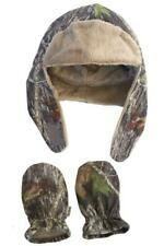 Realtree Camo Baby Girl's Hat & Mittens Set, Infant Camouflage