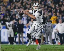 Jared Goff Los Angeles Rams autographed 8x10 photograph RP