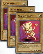 Common 1st Edition Lightly Played DP2-EN003 YuGiOh Ojama Yellow