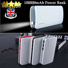 100000mAh External Power Bank 3USB Portable Battery Charger For iPhone X Samsung