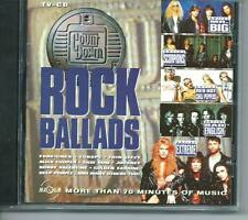 ROCK BALLADS DUTCH CD MR BIG SCORPIONS EXTREME RED HOT CHILLI PEPPERS JOURNEY