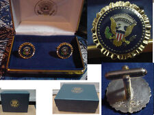 Pair of  new  presidential George W Bush cufflinks   west wing