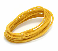 WR-YELLOW 8 Feet Of Yellow Fender® Style Cloth Wire For Guitar And Bass