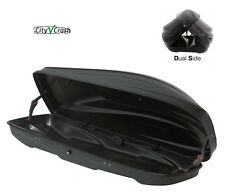 Box Baule Portapacchi x Auto G3 SPARK 420 lt 193x54x49 Nero Doppia Apertura