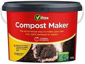 Vitax Compost Maker 10Kg Bucket Compost Accelerator New