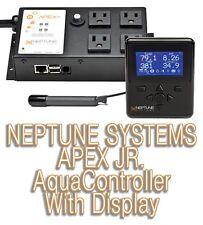 Neptune Systems Apex Jr AquaController Aquarium (Display, Base Unit, Temp Probe)
