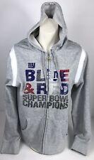 43f1a0724 Reebok Womens XL New York Giants Super Bowl Champions Sweatshirt Hoodie